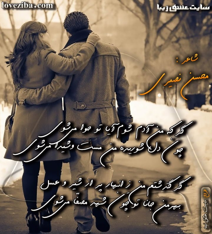 شعر بسیار زیبای آدم و حوا شاعر محسن نصیری