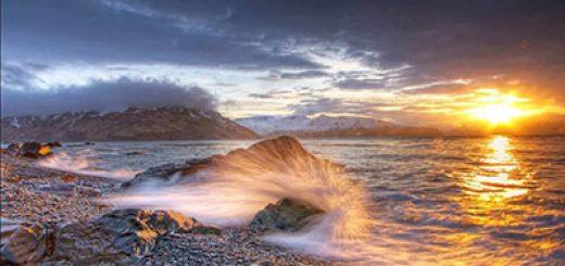 شعر بسیار زیبای خروش موج از رضا خدابنده