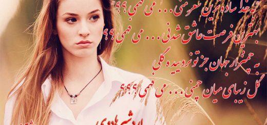 شعر می فهمی از اردشیر هادوی دکلمه سانیا انوش