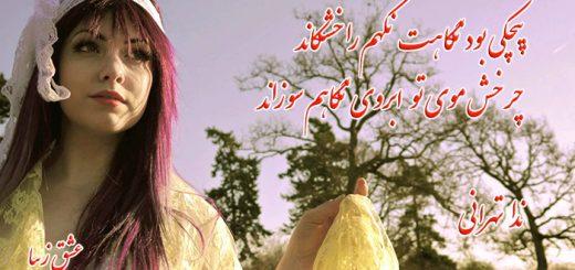 اشعار ادبی احساسی کوتاه بسیار زیبا از ندا تهرانی