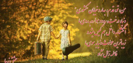 شعر زیباترین غزل از فاطمه زال نژاد دکلمه محمد قائمی