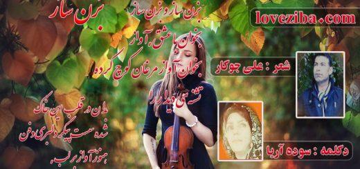 شعر بزن ساز از علی جوکار دکلمه سوده آریا