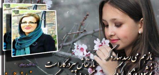 شعر باز هم میرسد بهار از نیلوفر حسینی