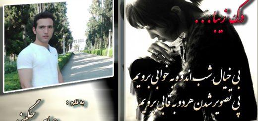 شعر درک زیبا از عباس چگینی